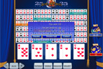 25-Line Aces and Faces Videopoker